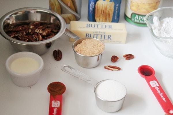 Ingredients for Monkey Bread
