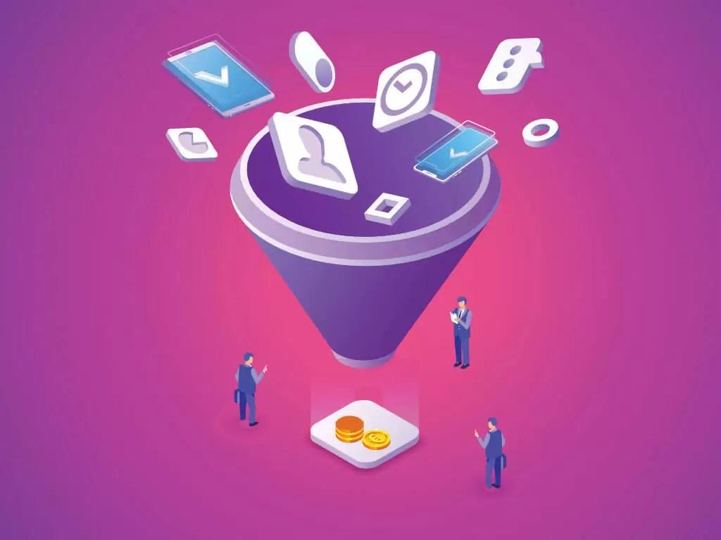 Geração de leads - Funil de vendas