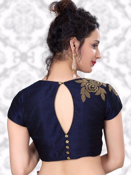 30+ Latest Simple Blouse Back Neck Designs 2018 & 2019
