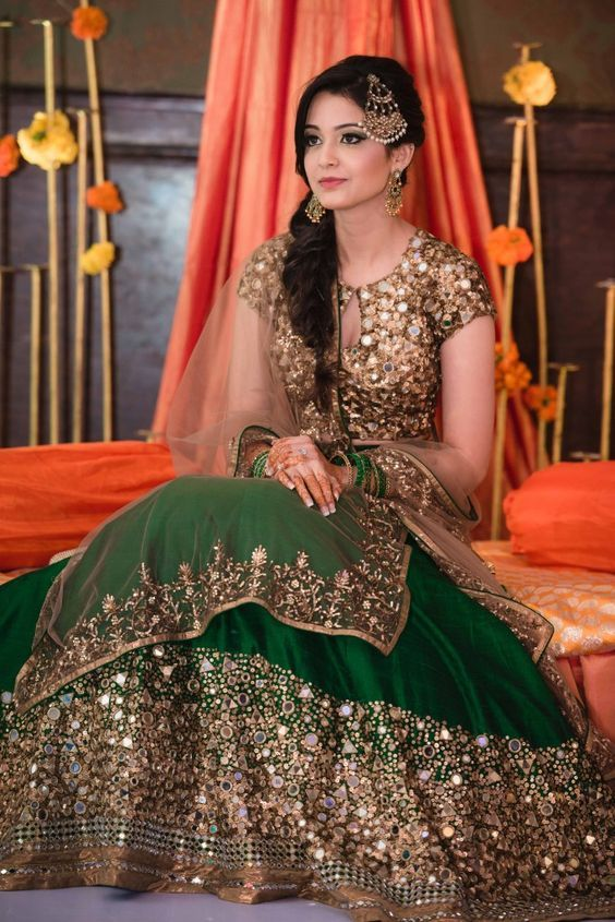 30 Bridal Lehenga Designs Images For Wedding Reception 2018 2019