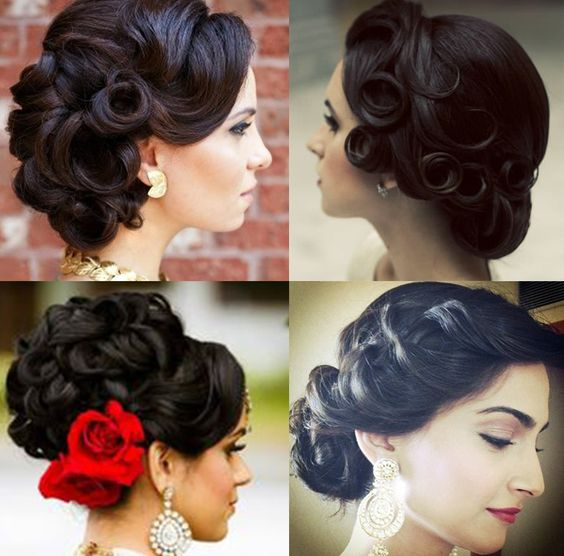 30+ Latest Indian Bridal Wedding Hairstyles Images 2019-2020