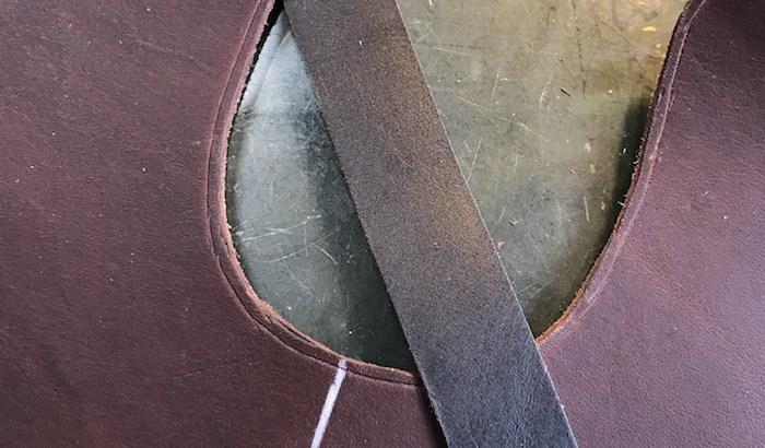 木型から作る靴づくり第20回_ビーディングテープをつくる
