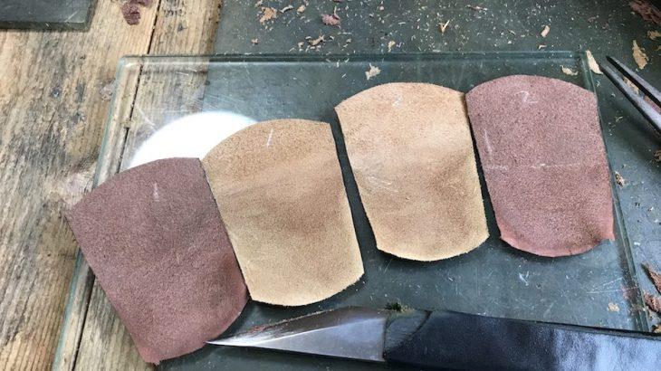 木型から作る靴づくり第21回_タンのスカイビング
