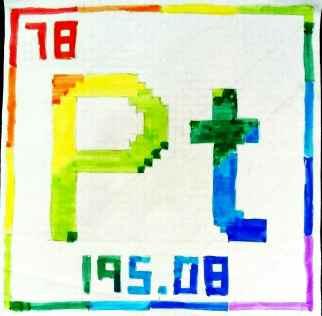 Original version of the Pt symbol