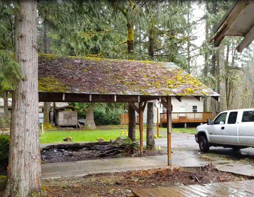 Wildwood Cabin - Old Carport