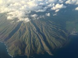 Maui from the sky!
