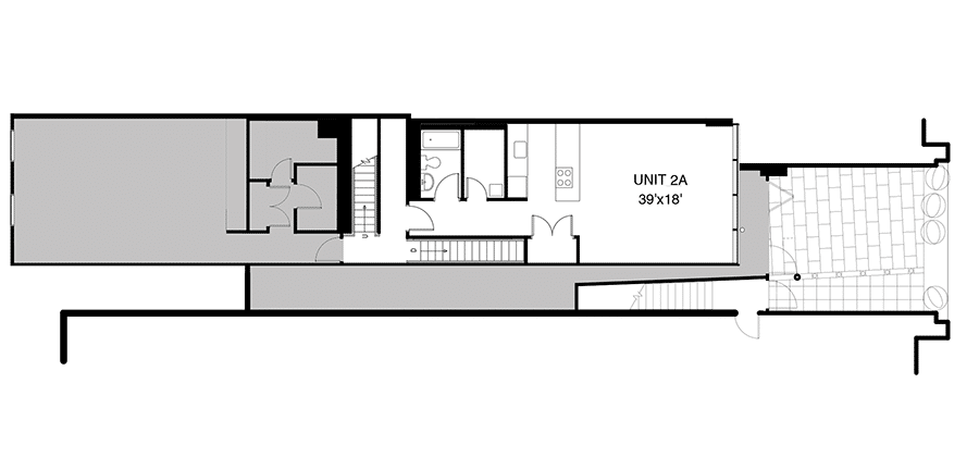 plan 2A and courtyard (stacked) 900x420
