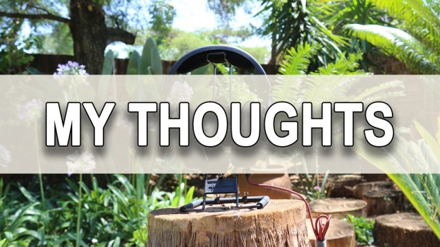 3 - My Thoughts