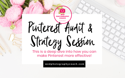 Pinterest Audit and Strategy Sessions