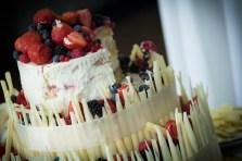 roličky s bílé čokolády a ovoce - mňam