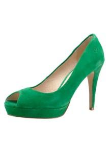 Zelené lodičky Bronx