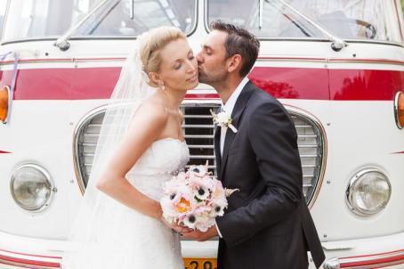 Svatební foto novomanželů