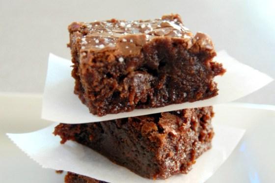 sweet n salty brownie