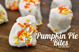 pumpkin pie bites | wee-eats.com