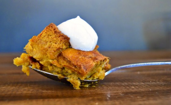 pumpkin bread pudding 0084
