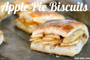 apple pie biscuits | wee-eats.com