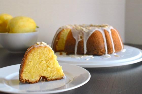 ultralemony bundt cake - wee eats