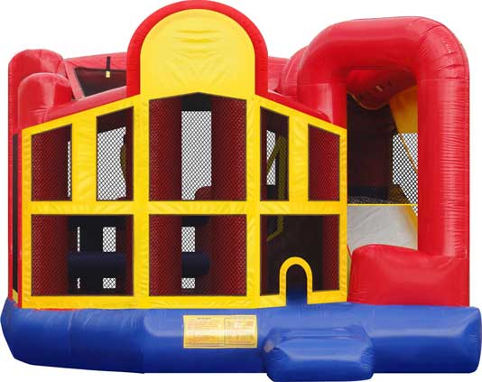 Five in one combo bounce house