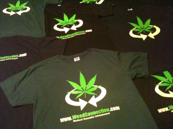 Original T-Shirt @WeedConnection