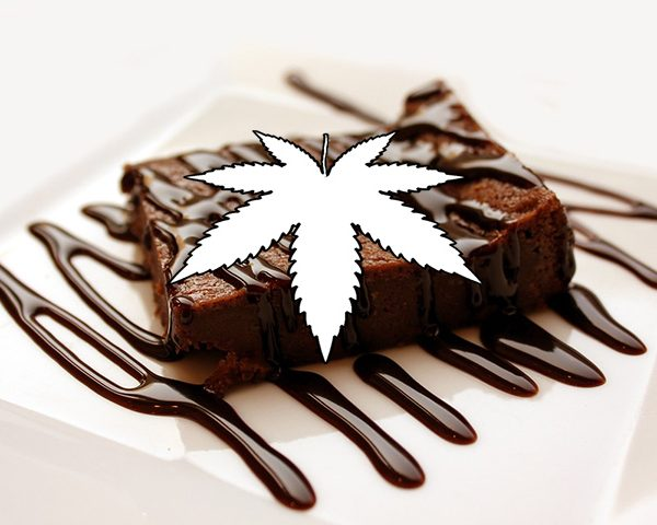 Weedin Rezept zum Zubereiten von Cannabisbrownies