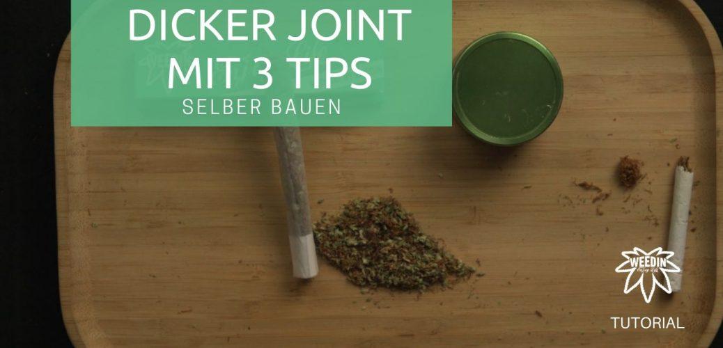 Dicker Joint mit 3 Tipps selber bauen tutorial