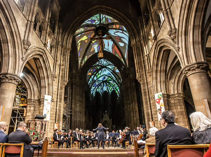 Architectural-3D-projection-mapping-cathedral-edinburgh-orchestra2