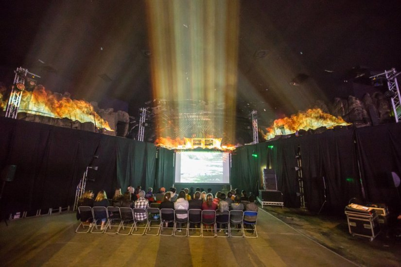 Immersive-Cinema-projection-mapping-experience edinburgh