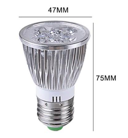 5 LEDS E27 lamp