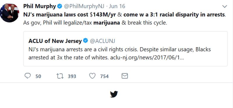marijuana legalization, legal weed, phil murphy, new jersey, legal cannabis