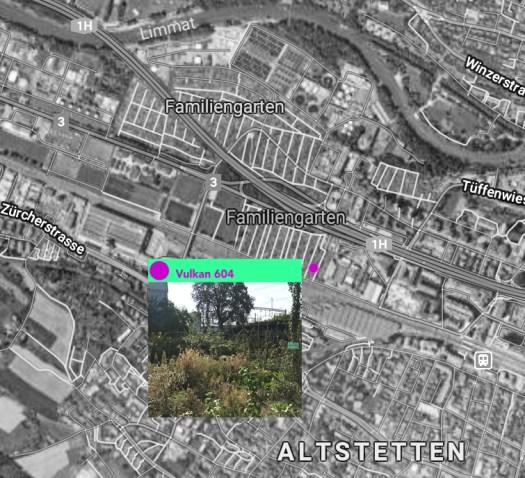 Vulkan Garten map