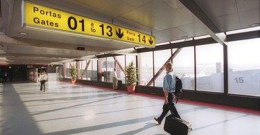Couloir Aéroport de Lisbonne