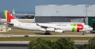 Avion de la Tap - Aérroport de Lisbonne
