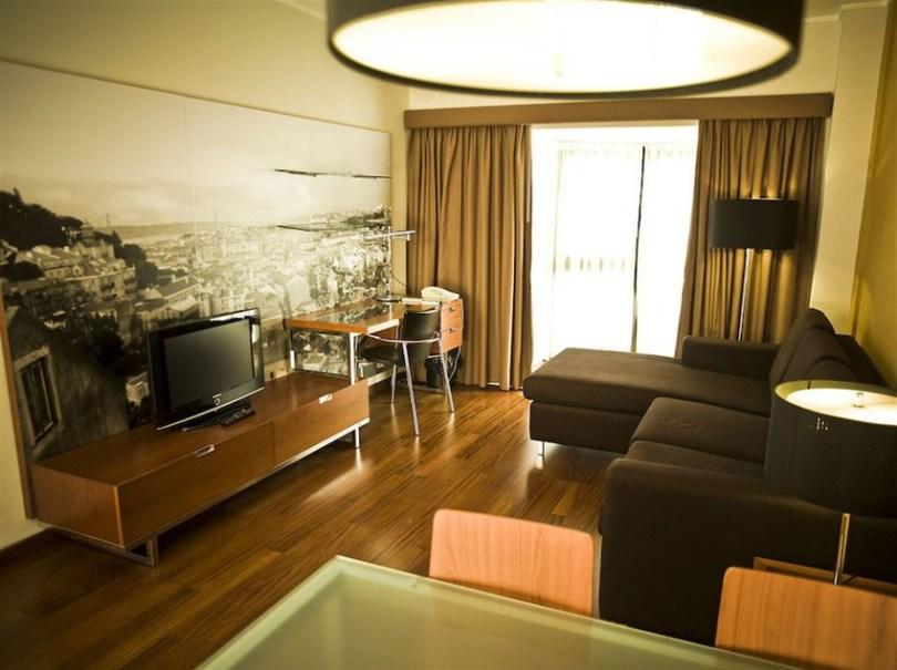 Clarion Suites Lisboa - Salon des appartements