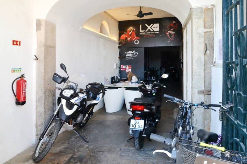 LX Rent - Location de motos et scooters - Lisbonne