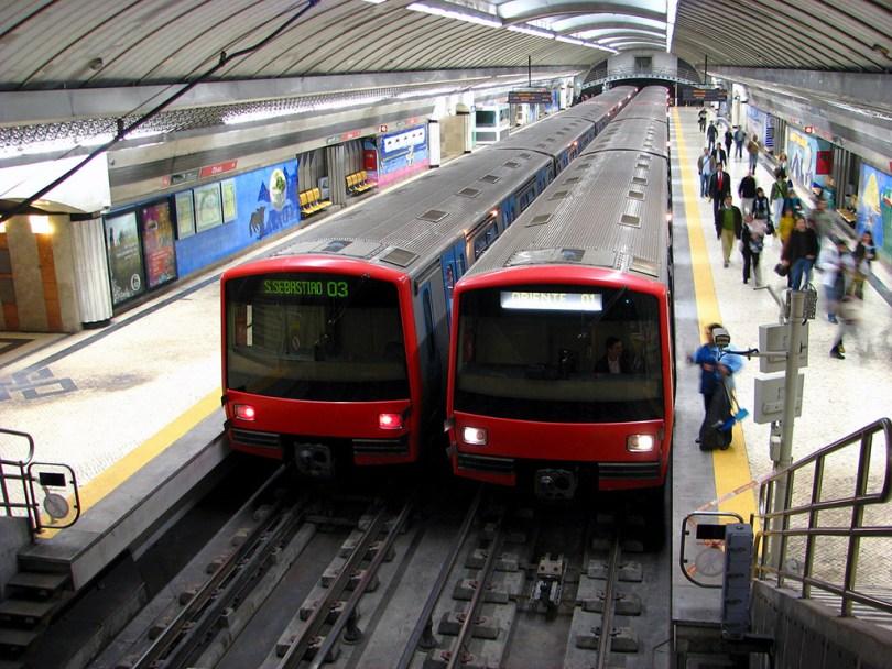 Métro de Lisbonne