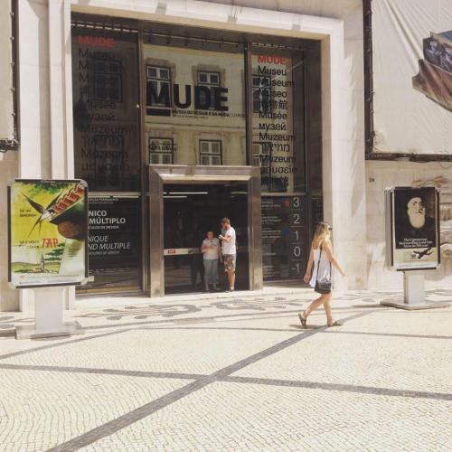 Façade Musée du Design et de la Mode - Lisbonne