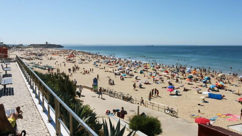 Plage de Carcavelos - région de Lisbonne