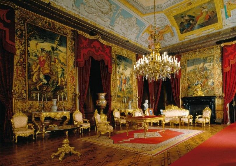 Salon du Palais Ajuda - Lisbonne