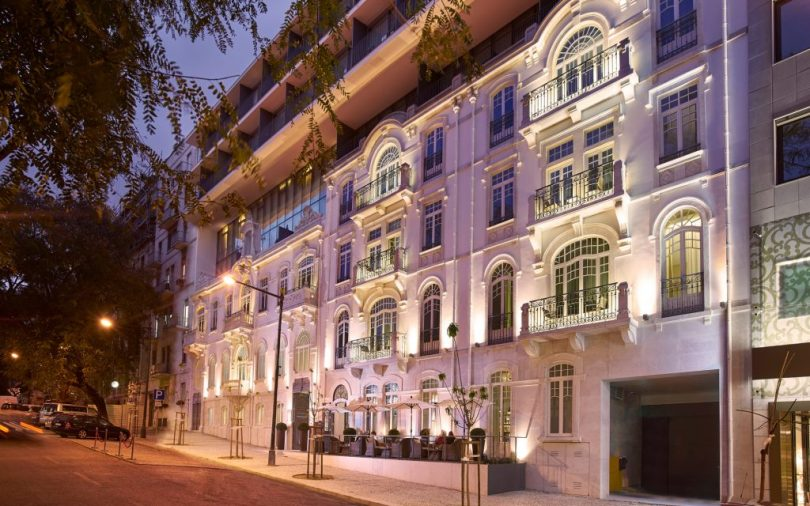 Façade Porto Bay Liberdade - Hotel 5 étoiles - Lisbonne