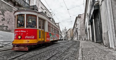 Photo Tramway Lisbonne - Flickr @ Christophe Faugere