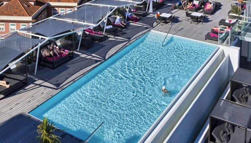 Piscine extérieure Epic Sana Hotel - 4 étoiles - Lisbonne