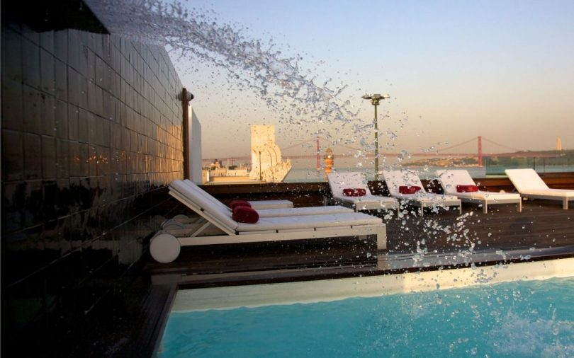 Piscine exterieure - Altis Belem Hotel et Spa - Lisbonne