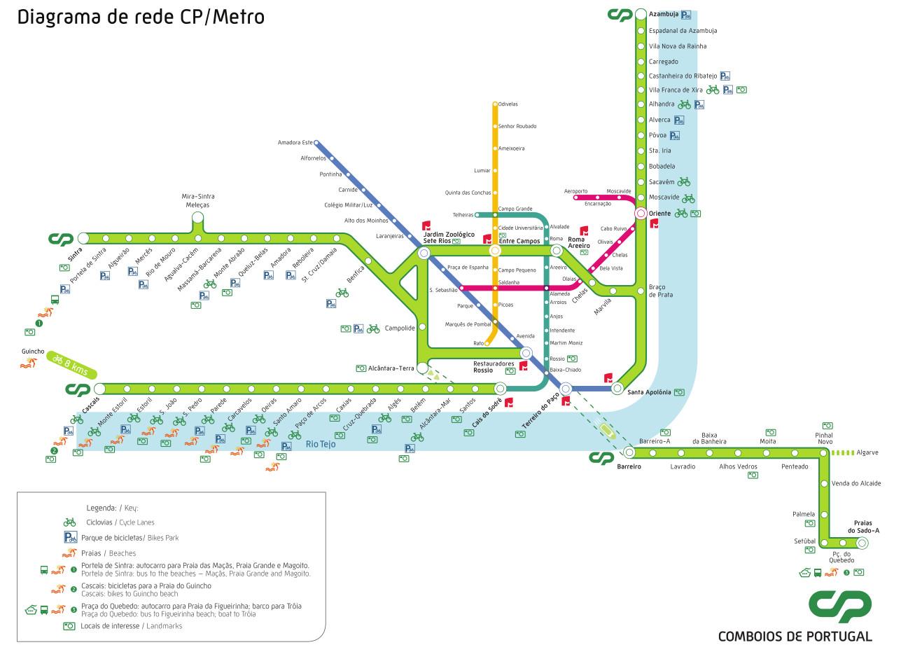 Transports lisbonne 10 infos indispensables pour votre for Abrite des plans et des plans