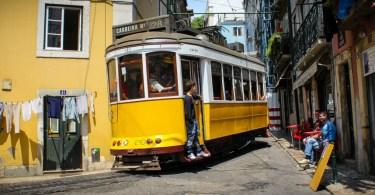 Tramway Lisbonne - Ligne 28