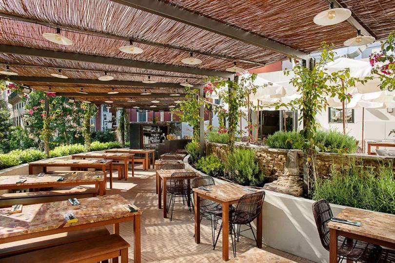 Terrasse Restaurant Lisbonne - Pizzeria Zero Zero