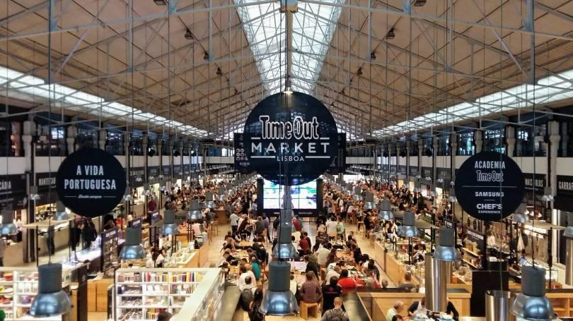 Time Out Market - Mercado da Ribeira - Marche Lisbonne - Cais do Sodre