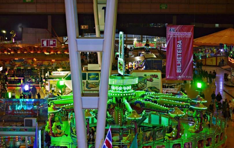 Diverlandia - Plus grande fete foraine indoor de Lisbonne et du Portugal