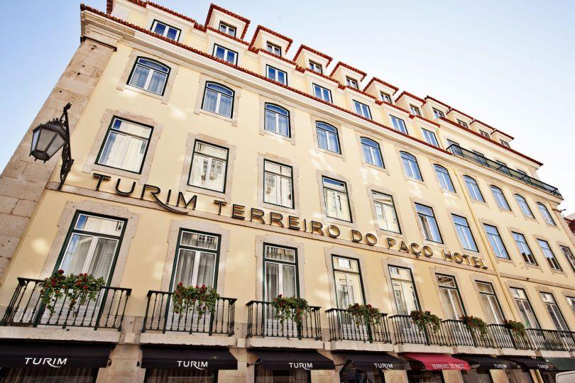 Hotel Turim Terreiro do Paco - Facade - Lisbonne