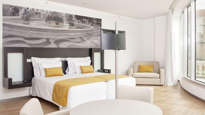 h tels pas cher lisbonne les meilleurs moins de 100 la nuit. Black Bedroom Furniture Sets. Home Design Ideas