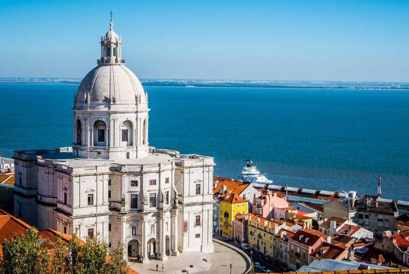 Pantheon National de Lisbonne - Eglise de Santa Engracia - Photo flicr de Marc Heurtaut